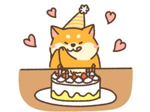 六花亭喫茶室では誕生日も祝ってもらえる